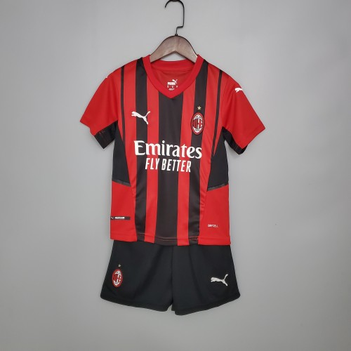 21-22 AC Milan Home Kid Kit