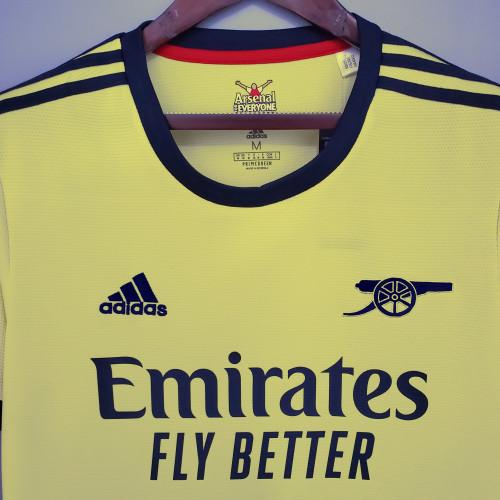 21-22 Arsenal Away Fans Jersey
