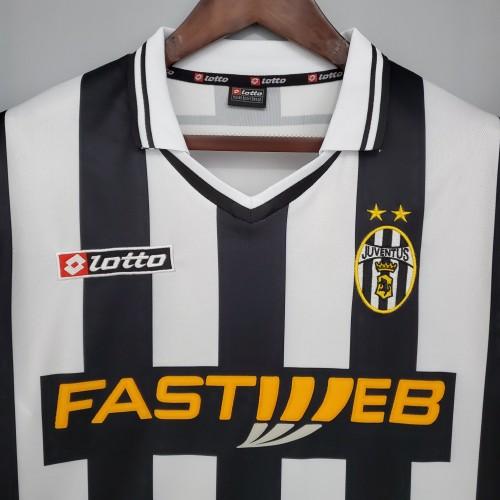 01-02 Juventus Home Retro Jersey