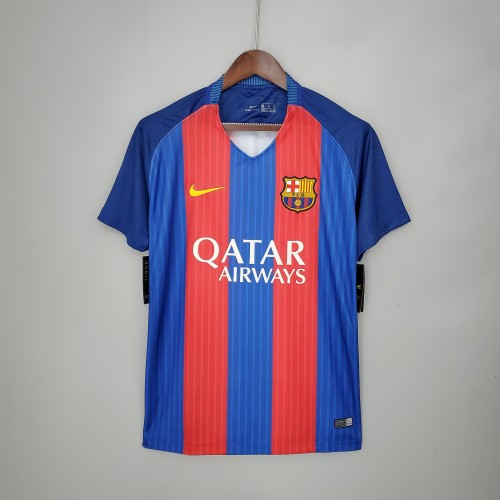 16-17 Barcelona Home Retro Jersey