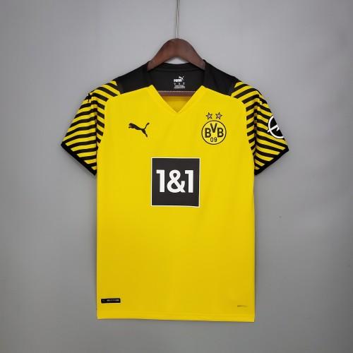 21-22 Dortmund Home Fans Jersey