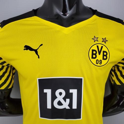 21-22  Dortmund Home Player Jersey