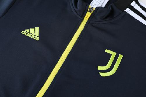 21-22 Juventus Blue Jacket Suit