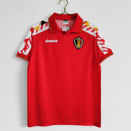 1995 Belgium Home Retro  Jersey