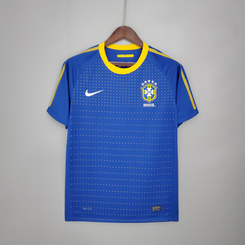 2010 Brazil Away  Retro Jersey