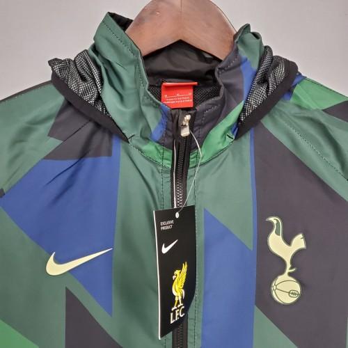 21-22 Tottenham Hotspur Green Windbreaker