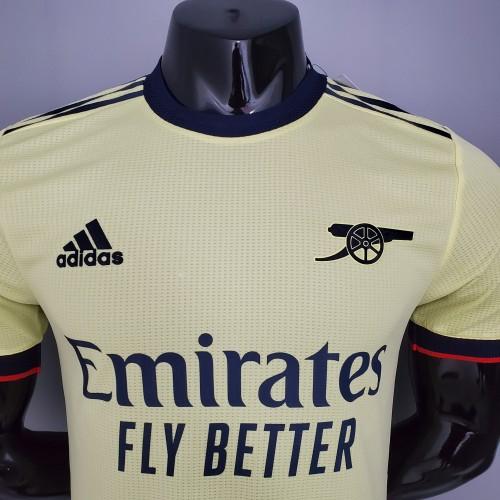 21-22 Arsenal Away Player Jersey