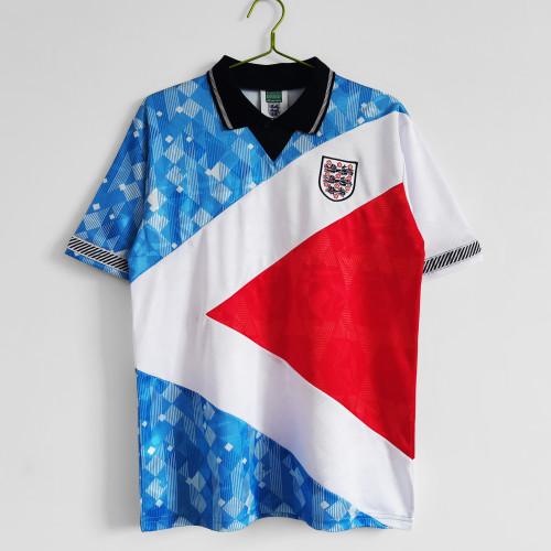 1990 England Three Color Retro Jersey