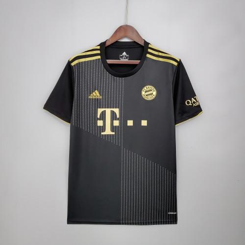 21-22 Bayern Munich  Away Fans Jersey