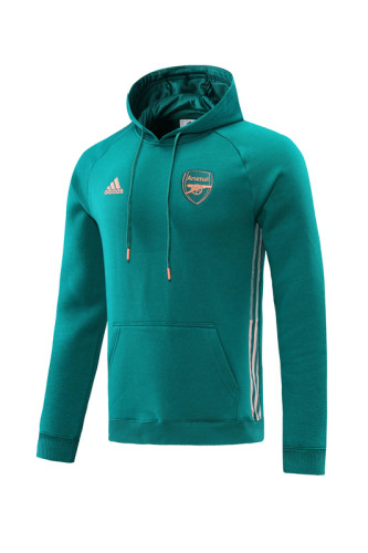 21-22 Arsenal Green Hoodie