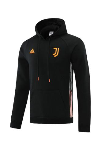 21-22 Juventus Black Hoodie