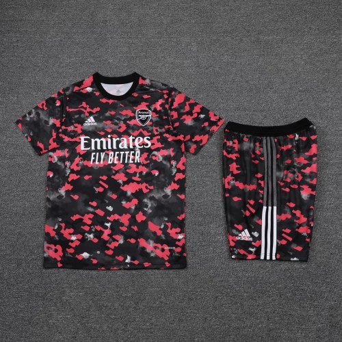 21-22 Arsenal camouflage Short Sleeve Suit(With short)