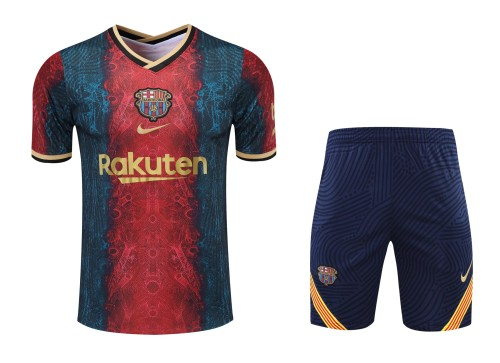 21-22 Barcelona Short Sleeve Suit(With short)