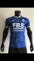 21-22 Leicester City Home Player Jersey