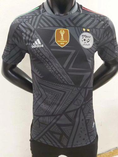 21-22 Algeria Black player version Jersey