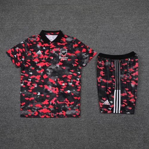 21-22 Arsenal camouflage Polo Short Sleeve Suit