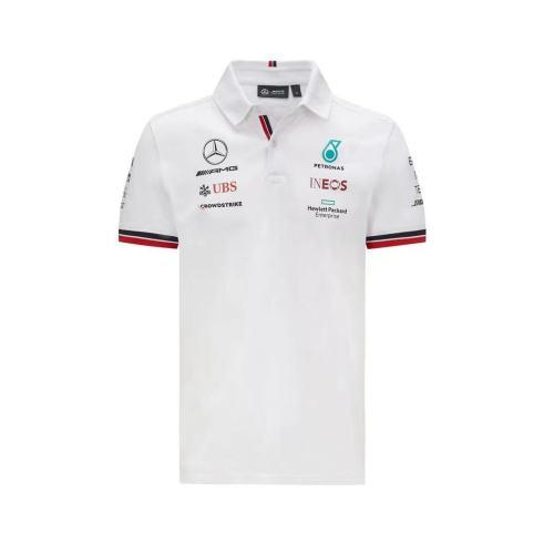 Mercedes AMG Petronas F1 2021 Team Polo - White