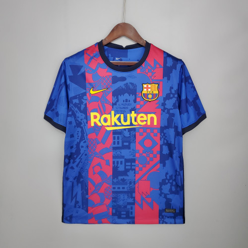 21-22 Barcelona Third Fans Jersey