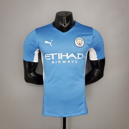 21-22 Man City Home Player Jersey