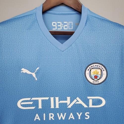 21-22 Man City Home Fans Jersey