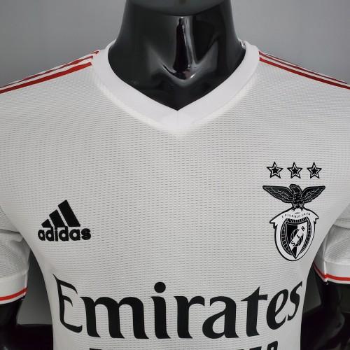 21-22 Benfica Away Player Jersey