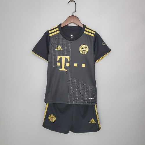 21-22 Bayern Munich Away Kid Kit
