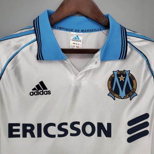98-99  Marseille Home Retro Jersey