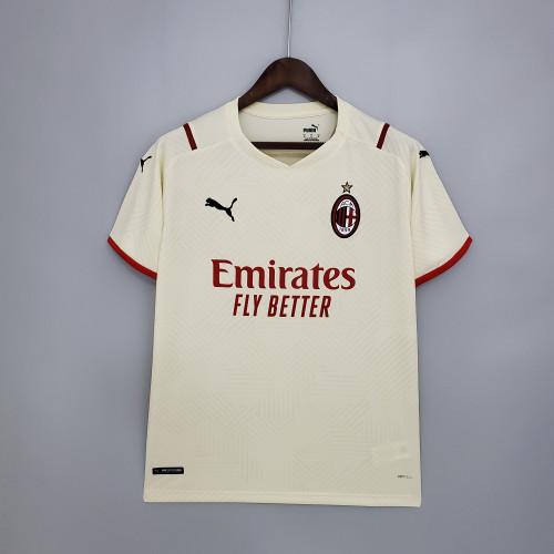 21-22 AC Milan Away Fans Jersey