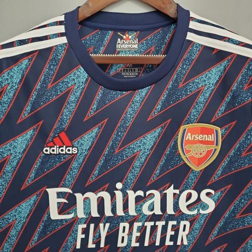 21-22 Arsenal Third Fans Jersey