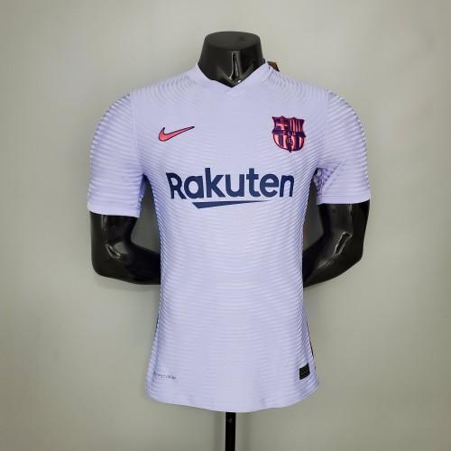 21-22 Barcelona Away Player  Jersey