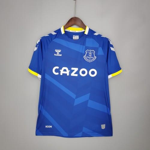21-22 Everton Home  Jersey