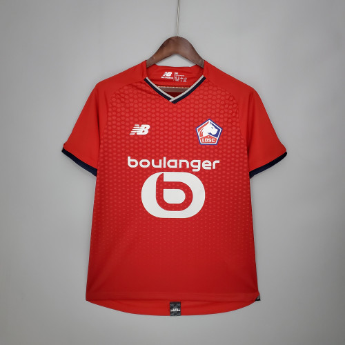 21-22 Lille Home Fans Jersey