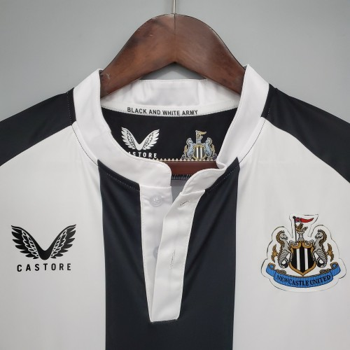 21-22 Newcastle United Home Fans Jersey