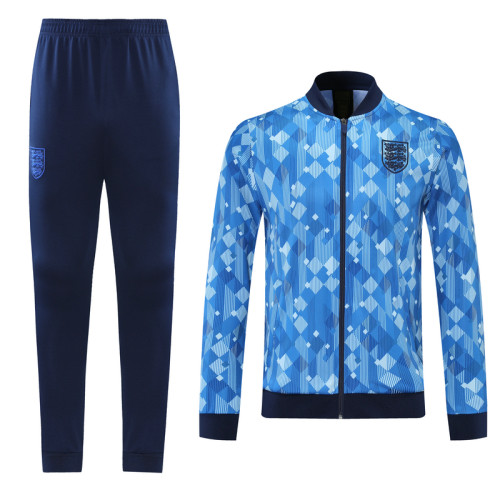 2021 England Blue Jacket Suit