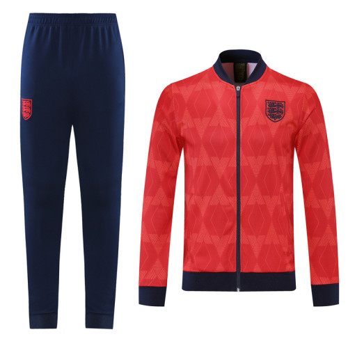 2021 England Red Jacket Suit