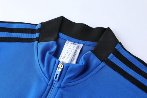 21-22 Real Madrid Blue Jacket Suit