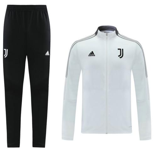 21-22 Juventus White Jacket Suit