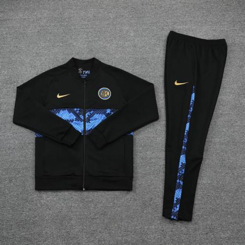 21-22 Inter Milan Black Jacket Suit