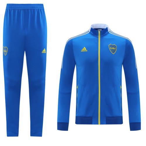 21-22 Boca Juniors Blue Jacket Suit