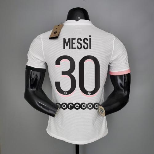 21-22  PSG Away Player  Jersey  30#MESSI