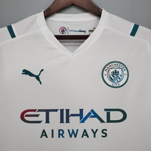 21-22 Man City Away Fans Jersey