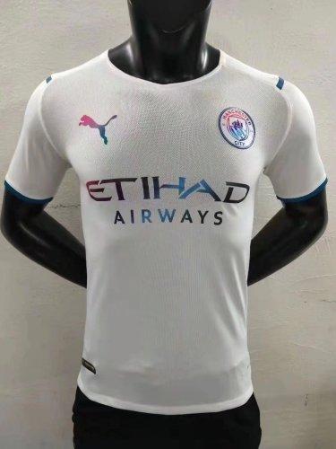 21-22 Man City Away Player Jersey