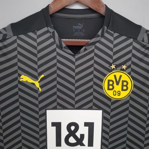 21-22 Dortmund Away Fans Jersey