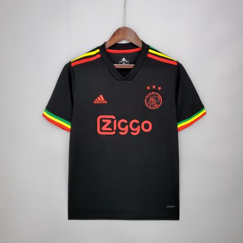 21-22 Ajax Black Fans Jersey