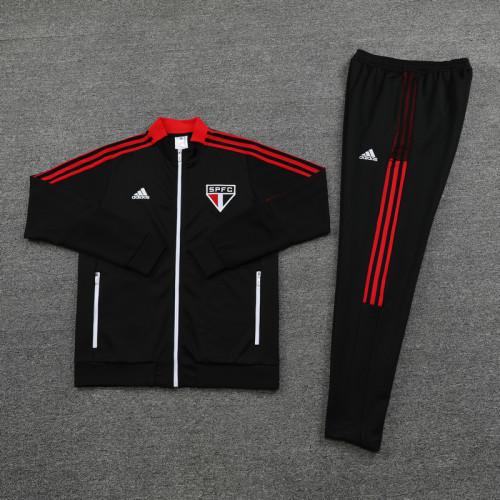21-22 Sao paulo Black Jacket Suit