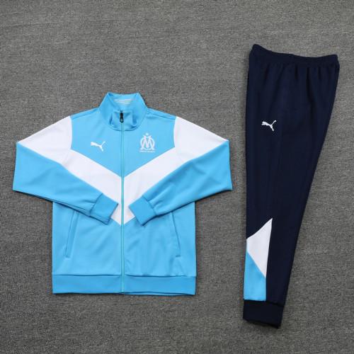 21-22 Marseille Blue-White Jacket Suit