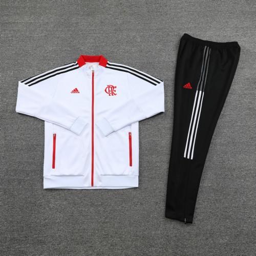 21-22 Flamengo White Jacket Suit