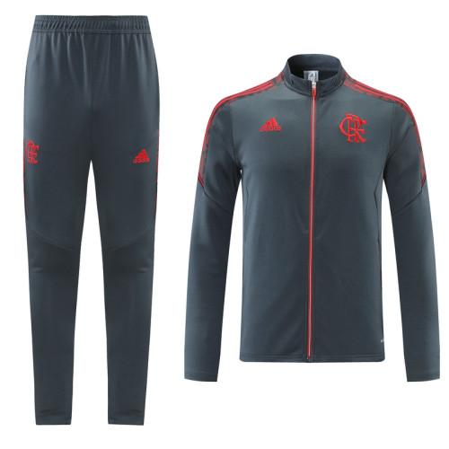 21-22 Flamengo Gray Jacket Suit