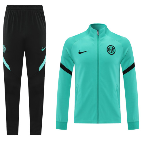 21-22 Inter Milan Green Jacket Suit