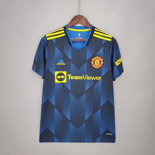 21-22 Manchester United Third Fans Jersey
